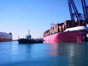 Valenciaport's import/export traffic leapt again in September with growth more than double digits