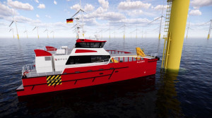 Damen signs with Opus Marine for Germany's first 