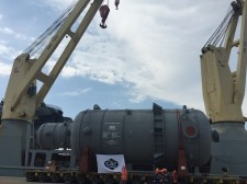 GAC beats the elements in delivery of reactor duo