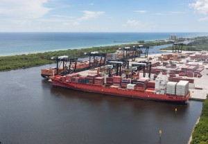 Port Everglades welcomes Ocean Network Express on new European service rotation