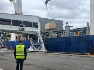 New cargo volumes via Ports of Stockholm from Asia to Frihamnen Port
