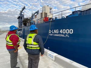 Port Canaveral gets underway as North America's first LNG cruise port