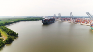 CMA CGM Marco Polo breaks record at Port of Savannah