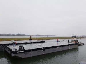 De Klerk takes delivery of two Damen Stan Pontoon