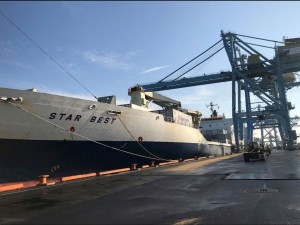 Port of Wilmington, DE welcomes first Chilean winter fruit vessel for the 2018-19 season