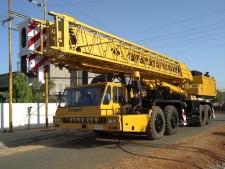 Express Global Logistics (EXG) gets heavy cranes from Mumbai to Jebel Ali