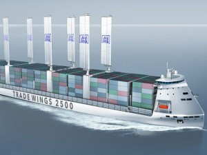 """Innovative 2,500 TEU container vessel """"Trade Wings 2,500"""" receives approval in principle from Bureau Veritas"""