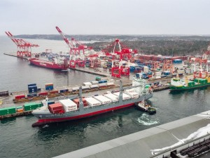 New Tropical Shipping vessel arrives at Port of Halifax