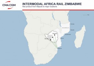 CMA CGM to offer new intermodal rail solutions in Zimbabwe from Maputo Ramp, Mozambique