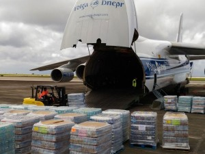 Volga-Dnepr Airlines rushes relief supplies to Guam to help victims of Typhoon Mangkhut