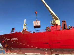 Port of Wilmington, Delaware receives record shipment of fresh Moroccan citrus