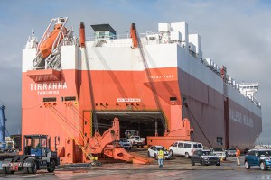 Automotive customers recommit to the Port of Hueneme