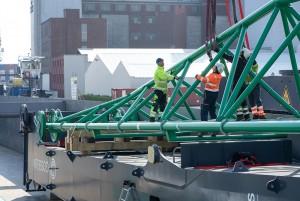 New mobile port crane for Heavy Gosselin Logistics in Antwerp