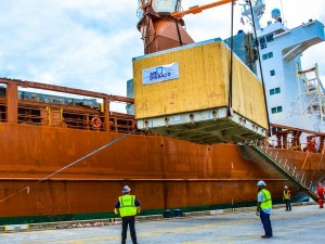 $25 million state-of-the-art cancer treatment equipment moves through JAXPORT