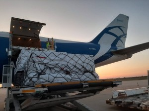 Air cargo volumes bounce back in April as the air cargo system remains under 'significant strain'