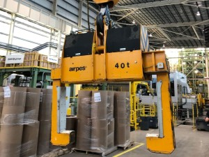 Automation-Ready Below-the-Hook Grab for Steel, Aluminum