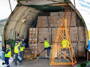 AN-225 Mriya flies 110 tonnes of Covid tests to Austria
