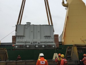 City Union Logistics moves transformer from Shanghai to Egypt