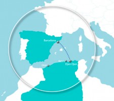 Re-opening of CMA CGM regular service from Barcelona to Djen Djen on EURONAF service