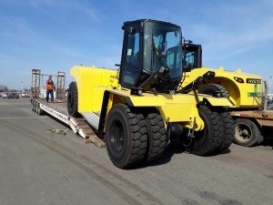 Mercomar ships forklifts to Argentina