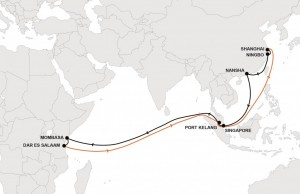 New Hapag-Lloyd East Africa service arriving in Kenya and Tanzania