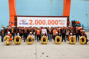 Adriatic Gate terminal marks 10th year with 2M TEU milestone