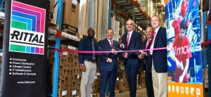 Global logistics team at Gebrüder Weiss welcomes Rittal North America to its Midwest warehouse