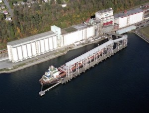 No grain in the rain as Vancouver export ships unable to load