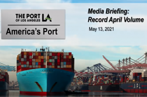 Robust April volume breaks another record at Port of Los Angeles