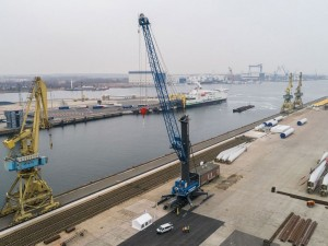 Euroports Germany opts for Liebherr in the port of Rostock
