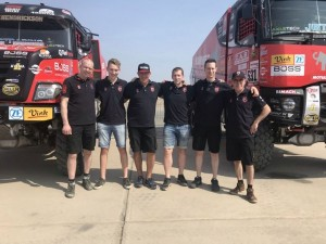 Mammoet Rallysport's grand send-off for the 41st Dakar Rally