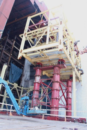 Mammoet approach enables modular construction at steel plant