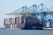 MSC chooses Le Havre to christen its new containership, MSC SVEVA