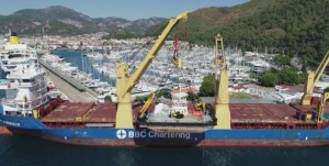 BATI handles shipping of 240 ton Multicat from Turkey to Canada