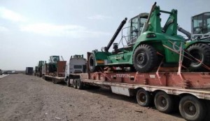 Modjo port project by ScanProTrans & Freight in Time