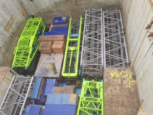 OLA Groups with another breakbulk shipment of a crawler crane