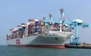 New record in Zeebrugge: Maiden call OOCL United Kingdom