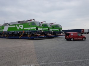 Trans Trading delivers locomotives to Finland
