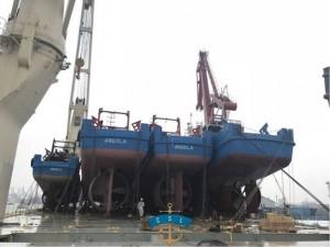 CSL Asia Shipping moves 3 fishing boats to Angola