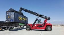 Kalmar delivers port equipment to Kazakhstan's premier in-land dry port