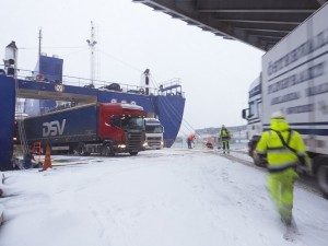 Freight is up nine percent at Port of Kapellskär