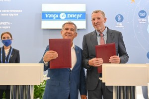 Volga-Dnepr Group and the Government of the Republic of Tatarstan have signed strategic partnership agreement with the aim to develop cargo sector in Kazan airport