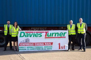 Davies Turner's Express China Rail service breaks records