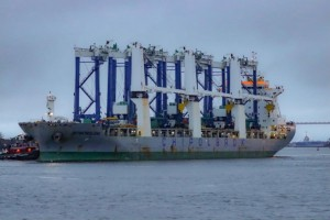 SC Ports welcomes six hybrid RTG cranes to Leatherman Terminal