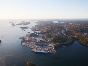Ports of Stockholm's sustainable transport node initiative