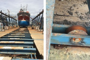 Thordon keeps Comeau marine railway drydock operational