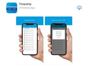 Timestrip electronic indicators now support Apple users