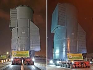 Turk Heavy Transport Continue Work on Alba Pot Line 6 Project