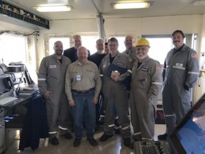 Crew of Crowley-managed SS Wright awarded Merchant Marine medals for outstanding achievement by the US Maritime Administration