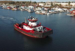 Jensen Maritime provides design for Shaver Transportation's new tugboat – Samantha S